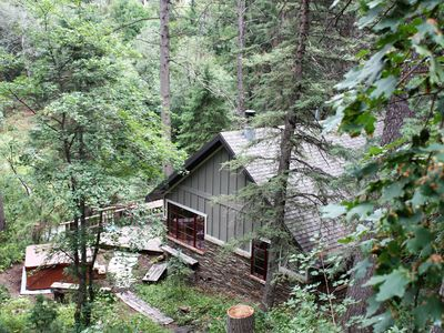 Photo for Hideaway Above the Stream - Secluded, Private and Quiet