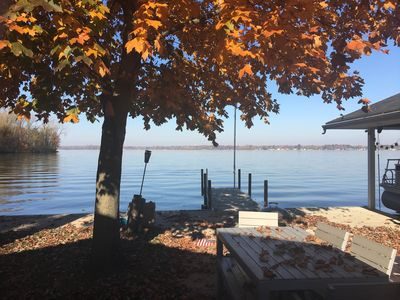 Photo for 4 BR 2 Bath, Indian Lake waterfront sunset cottage.