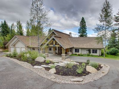 Photo for NEW LISTING! Luxury home w/million dollar views, private hot tub & privacy