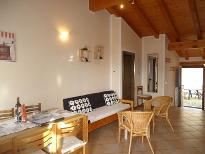 Casa Carla, up to 4 persons, quiet location, garden, balcony with panoramic  views - Idro