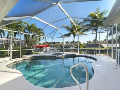 Photo for 33% OFF! -SWFL Rentals - Villa Princess - Luxury Heated Pool Home Sleeps 6