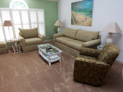 Photo for Sea Trail Resort--Beach 1 mile,3 onsite golf courses, roomy 2200sf
