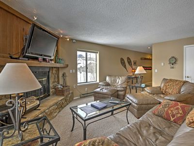 Photo for Central Condo w/Hot Tub Access: 11 Mi to Keystone!
