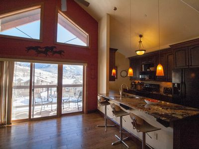 Photo for Keystone condo, sleeps 9, family friendly, top floor; available winter dates!