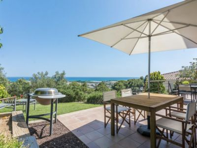 Photo for Villa with magnificent sea views