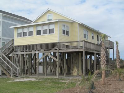 Photo for Charming Oceanfront Cottage on Holden Beach