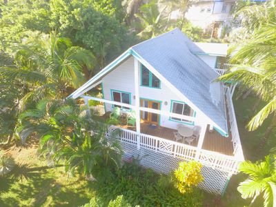 Photo for Amazing location! Charming Vacation home with Ocean Views & Breeze in West Bay!