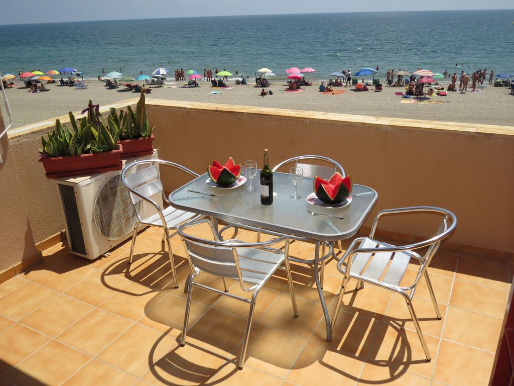 Naturist Apartment In Vera Front Beach View Sun And Golf All Year