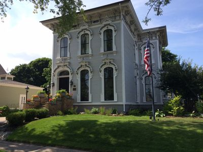Photo for Great downtown location in one of Grand Haven's most famous historic homes