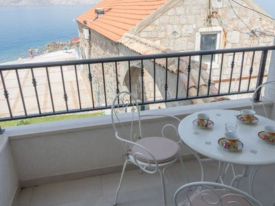 Photo for Apartment in the center of Senj with Air conditioning, Parking, Terrace, Balcony (650430)