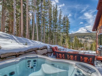 Photo for NEW LISTING! Secluded luxury home w/hot tub & amazing mountain views