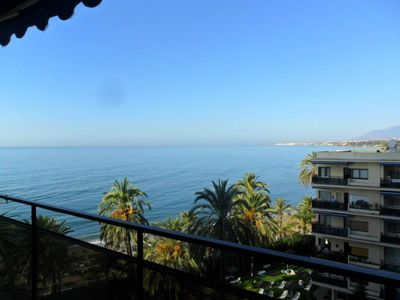 Photo for Skol Marbella Beachfront Central Studios with views