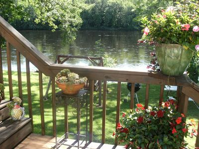 Photo for Natures Paradise on the Flambeau River , Beautiful Home and Peaceful setting