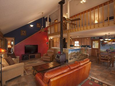 Photo for Spacious & Secluded Home with Incredible Mountain Views, Private Hot Tub & Sauna