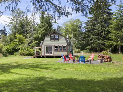 Photo for Relax near a beautiful lake at Clatsop Lake House with sleeping for up to 6!