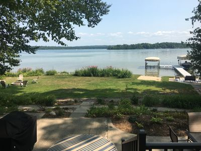 Photo for Peaceful Waterfront Cottage - air conditioning, 2.5 lots, great views