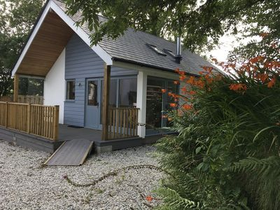 Photo for Unique eco-build holiday cottage, on Bodmin Moor. Near Boscastle & Tintagel.
