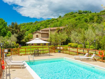 Photo for Villa Casale Terra Farfa: Large Private Pool, WiFi