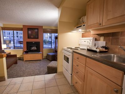 Photo for Whistler, Canada: 1 Bedroom Loft w/Fireplace, Jetted Tub, FREE WIFI, Resort Pool
