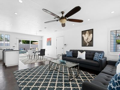 Photo for 3 Bedroom + 3 Bathrooms Easy Living Vacation Getaway in South Palm Springs