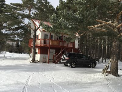 Photo for Cozy cottage perfect for Winter and Summer fun!