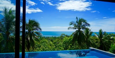 Photo for Beautiful tropical Sea View Pool Villa Seren just 400 meters from the beach+ car