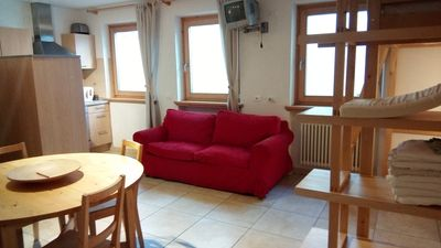 Photo for Cosy Studio Apartment in Chalet in Livigno