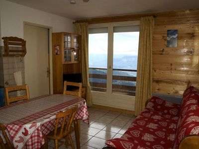 Photo for 1BR Apartment Vacation Rental in Le Pleynet