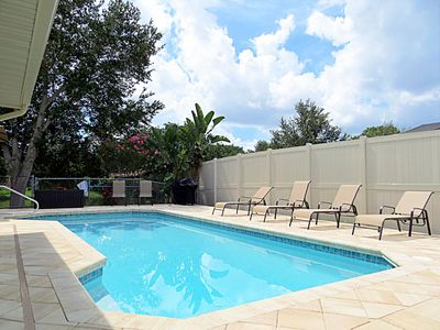 Photo for Tropical Lakefront Pool Home