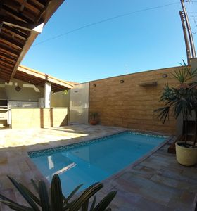Photo for Well located house with pool, barbecue 500mts from Ubatuba aquarium