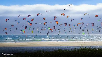 One of the largest Kite surfing destinations in the world.