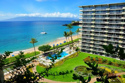 Incredible views of Kaanapali Beach and Black Rock from your Lanai