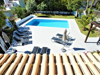 Photo for 10% DISCOUNT SEPTEMBER Lovely 5 bedroom villa, 10 minutes walk from Garrao beach