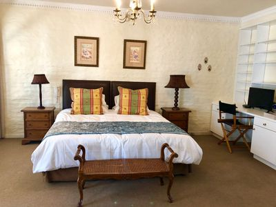 Photo for Morningside Mansion: Executive suite for 1 or 2 guests, only R 1 250 per night