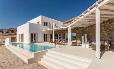 Photo for Spacious villa with Pool view, sea view and side sea view.