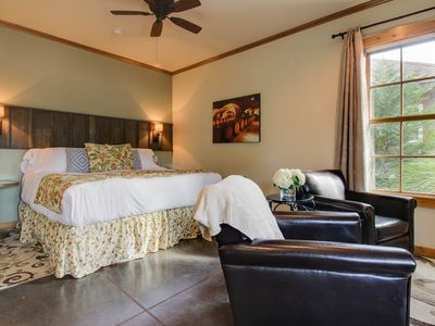 Photo for Wine country cottage w/a fireplace, hot tub & great location