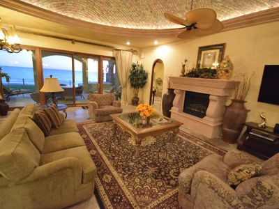 Photo for Unparalleled Luxury--Beach Front House On The Water 5Br/5Ba Sleeps 14
