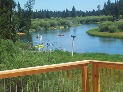 Photo for Log home On the Deschutes River Bend, OR
