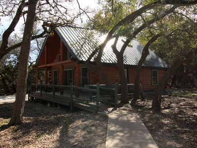 Photo for Cabin in Texas Hill Country