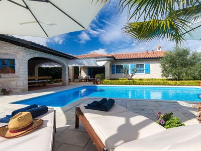 Photo for Villa Helena with pool with 3 bedrooms in Sabljići
