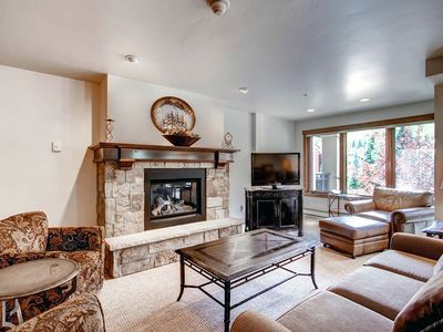 Photo for Location! Vail 2 Bedroom condo, 50 yards to lift, Hot Tub, Pool, Sleeps 6
