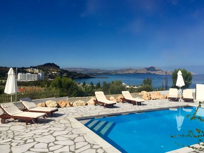 Photo for Beautiful Villa with Private Pool and Spectacular Sea And Mountain Views