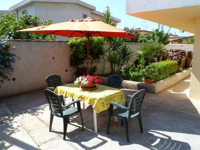 Photo for Apartment Orosei for 4 people, two bedrooms, large garden