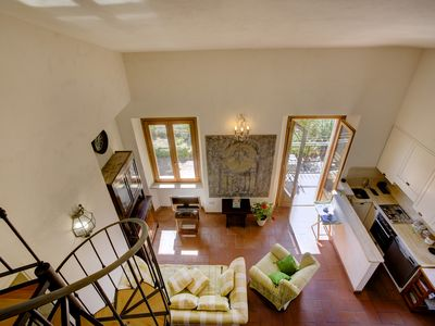 Photo for A breathtaking view of Burano Lake and Ansedonia in a Confortable apartment