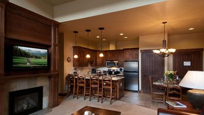 Full kitchen - all appliances included.