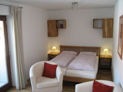 Photo for Cozy apartment for 2 persons with mountain views, 200 m to ski u. Hiking area