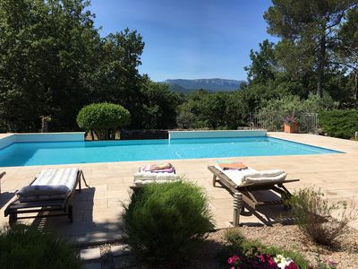 Photo for PROVENCAL VILLA OF STANDING 180 M² WITH SWIMMING POOL