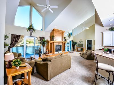 Photo for THE ULTIMATE LAKE VACATION! 7 Bed 6 Bath Condo in Cedar Heights! Elevator, Wi-Fi