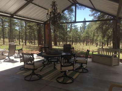 Photo for Updated  3 bedroom 2 bath Cabin in the Woods, Easy Access Near Flagstaff,