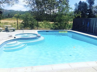 Photo for Amazing house! Pool, Spa, Tesla Charger & more..
